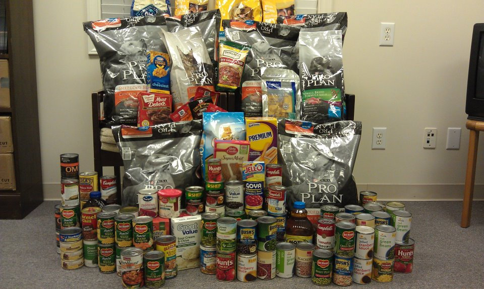donations of dog food