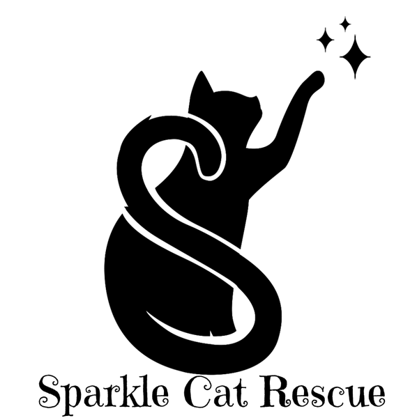 sparkle cat logo text